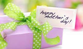 what will you give your mom on mothers day?