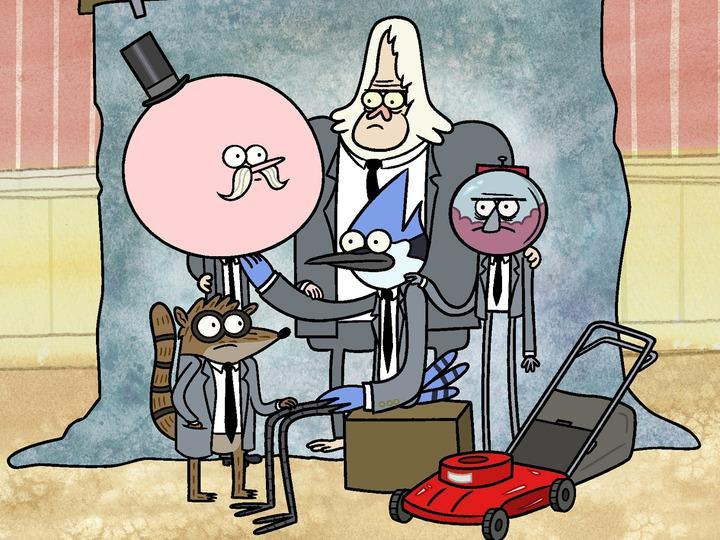 why doesn't cartoon network show all the episodes of regular show ?