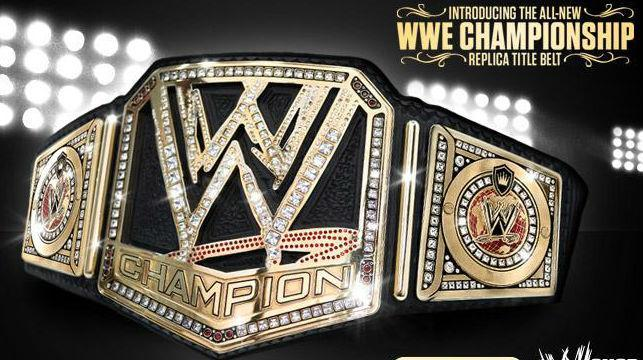 What do you think of the new WWE championship?