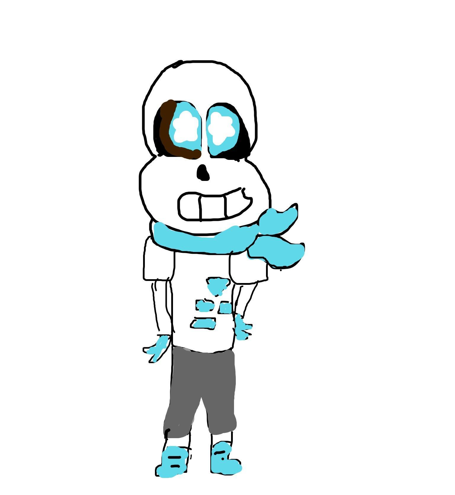 Okay, Okay... So what if BLUEBERRY sans asked you out?
