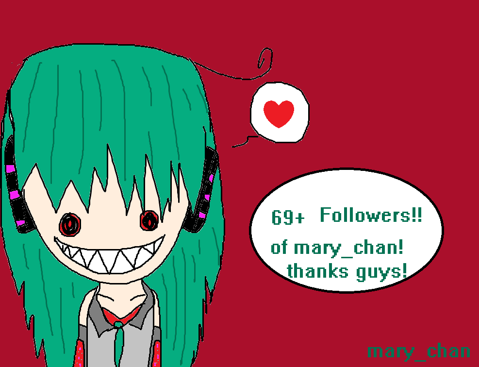 Mary_chans 69+ followers!