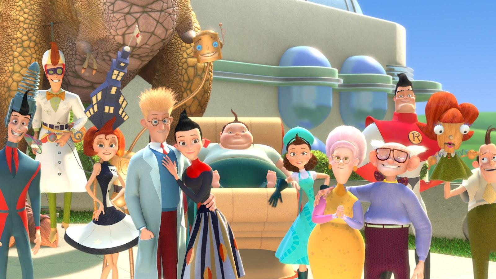 Who else remembers the 2007 movie Meet The Robinsons