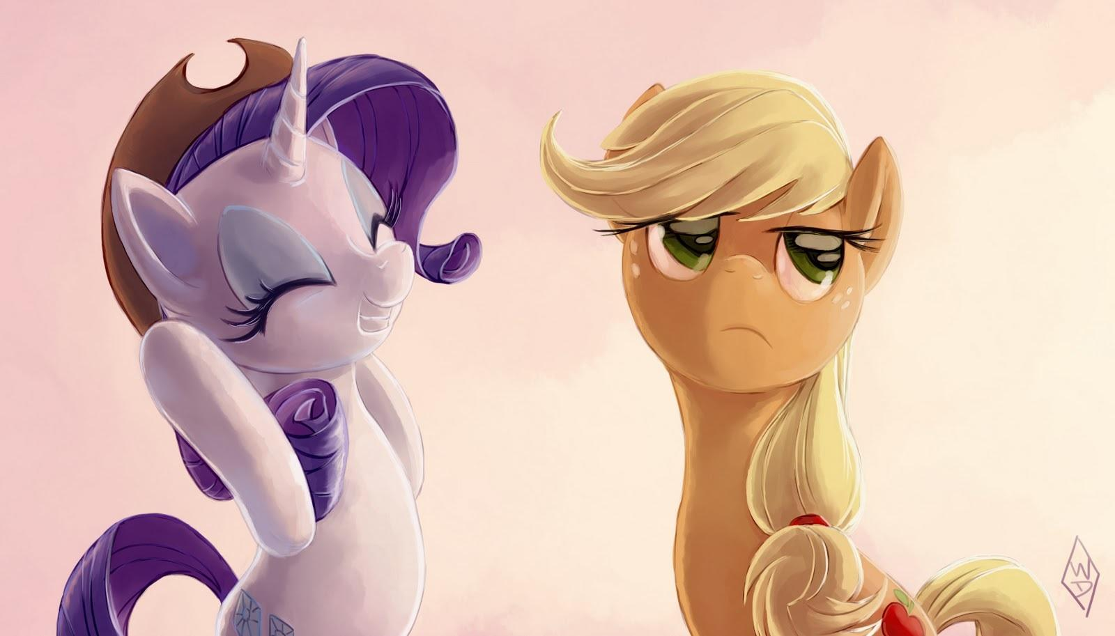 Vote 2: My Little Pony Edition. Rarity or Applejack?