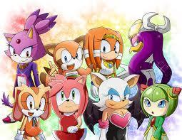 which sonic character are you? ( GIRLS )