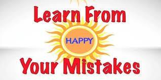 What do you learn from mistakes?