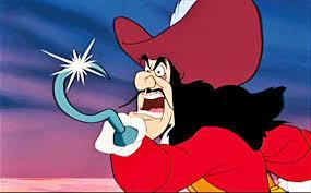 What was captain hook's name before his hand was eaten off?