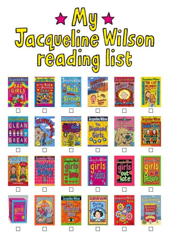 What is your favourite Jacqueline Wilson book?