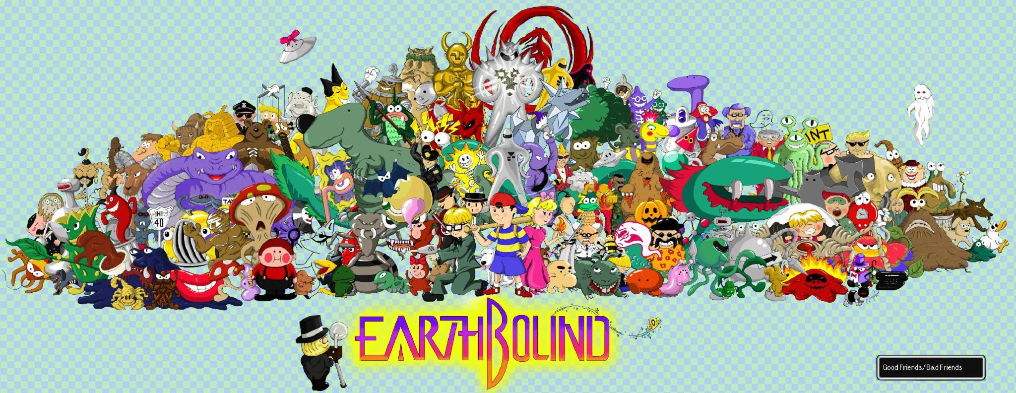 What is Earthbound about?