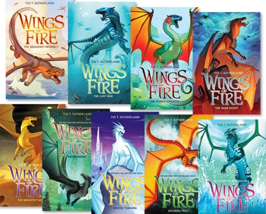Has anyone read the Wings or Fire series?