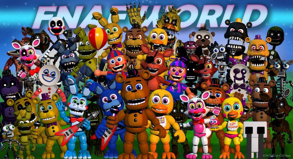 What do YOU want FNaF world to be?