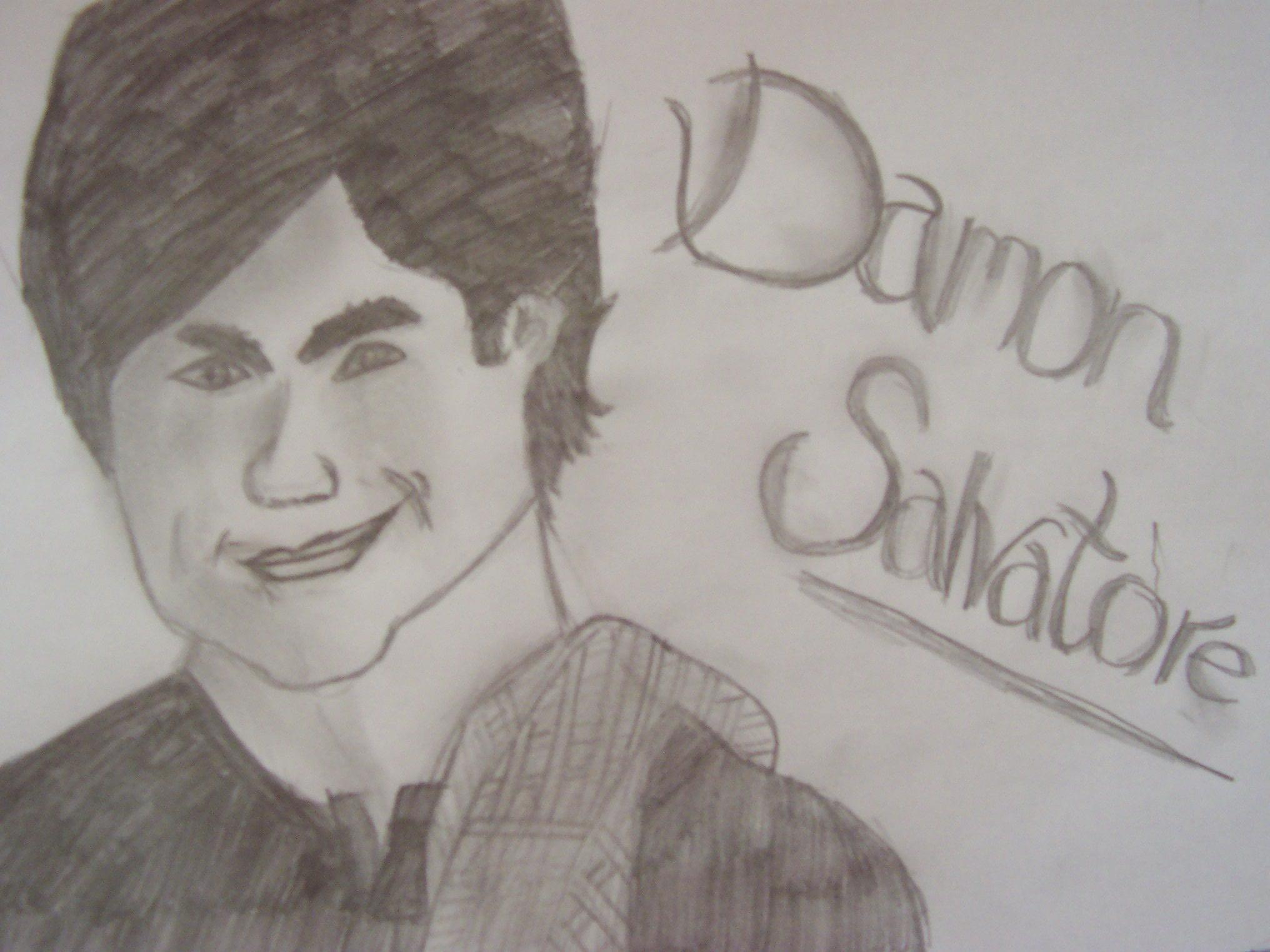 Please can you tell me if my picture of Damon Salvatore is actually good?
