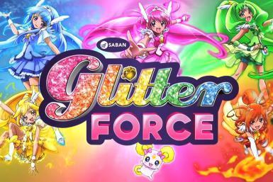 How did the Glitter force warriors get their special powers?