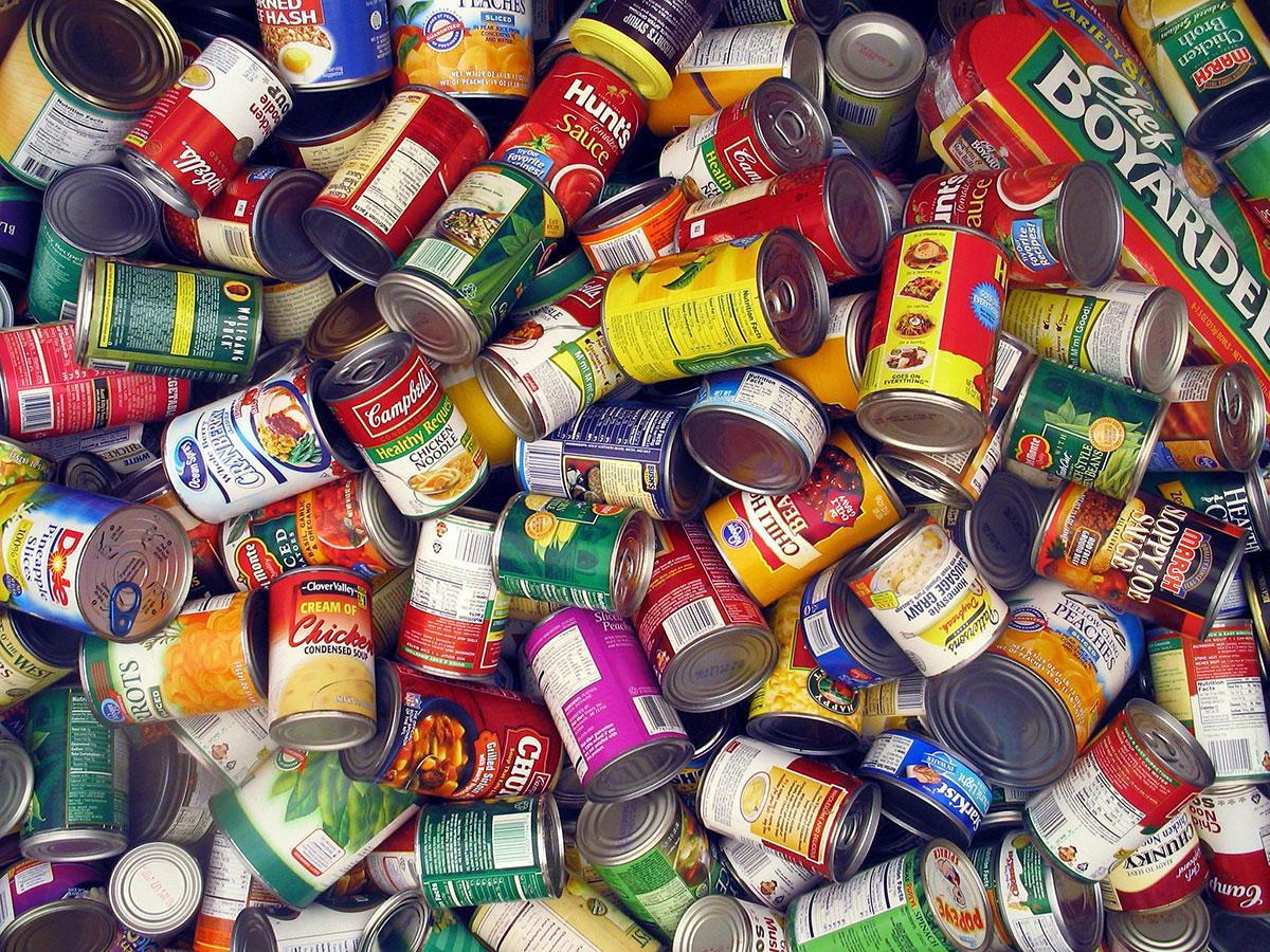 What are some common canned goods?