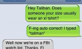 How has autocorrect turned on you?