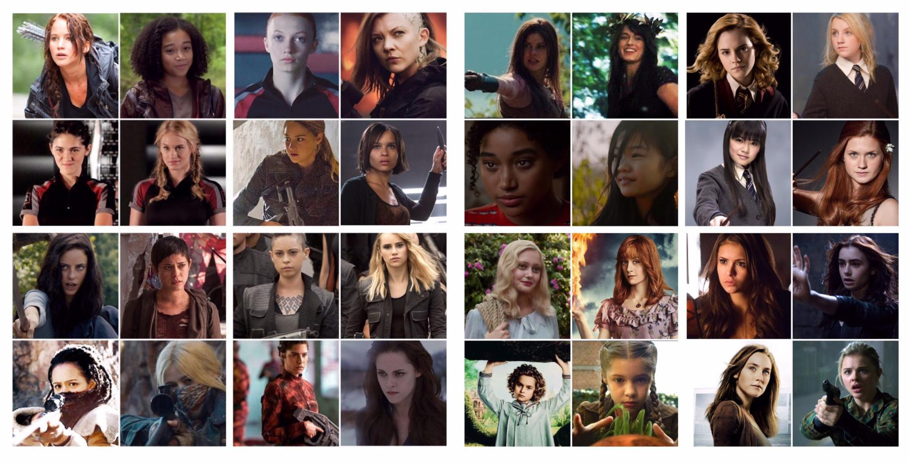 Which of these heroines do you like most?