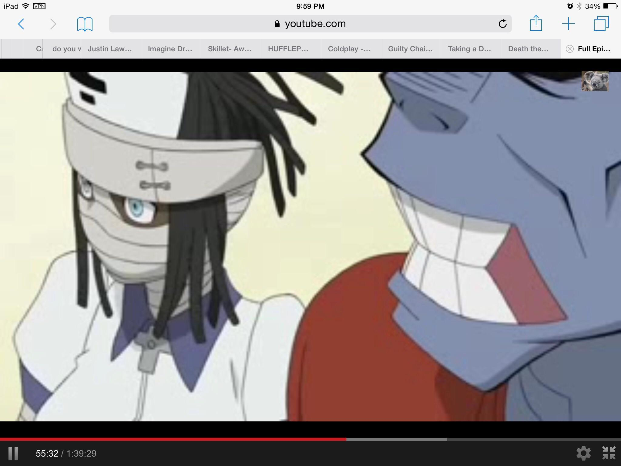 Anyone notice this paradox in Soul Eater?