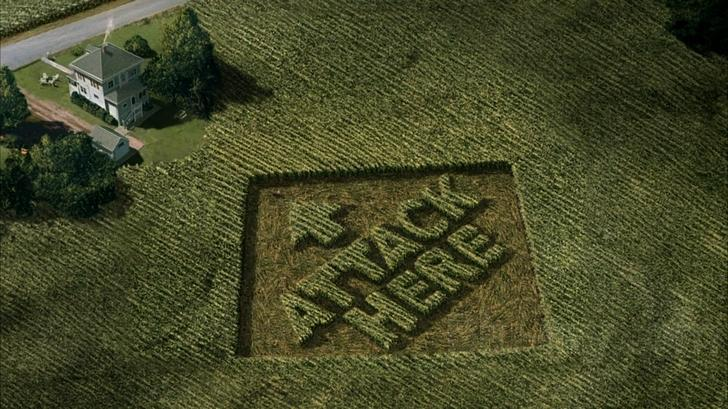 Could crop circles be the work of a serial killer?