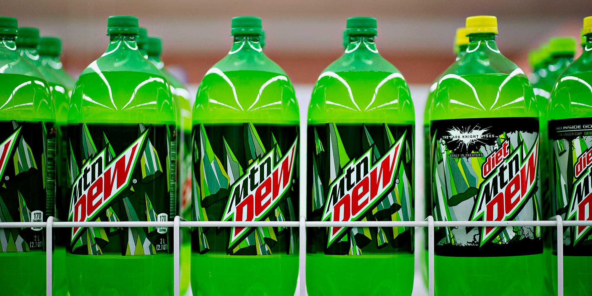 What's your favorite Mountain dew flavor?