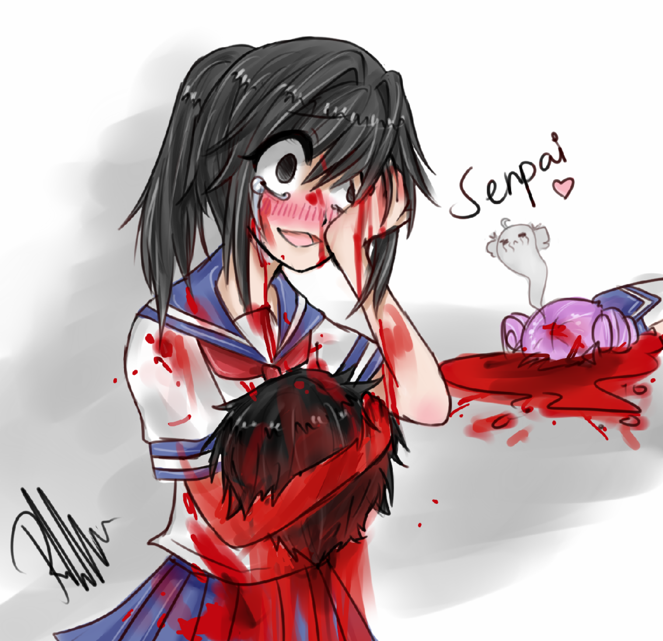 what do you think yandere simulator's ending will be like ?