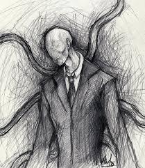 Why does Slender Man wear a suit?