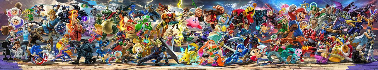 Who is your favourite character in the super smash bros series?