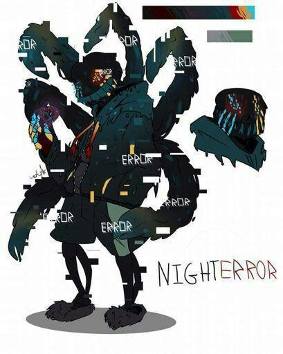 Who do you prefer Nightmare or Error Sans?