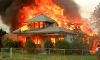 what would you do if your house was burning and you and your family along with pets were in the house?
