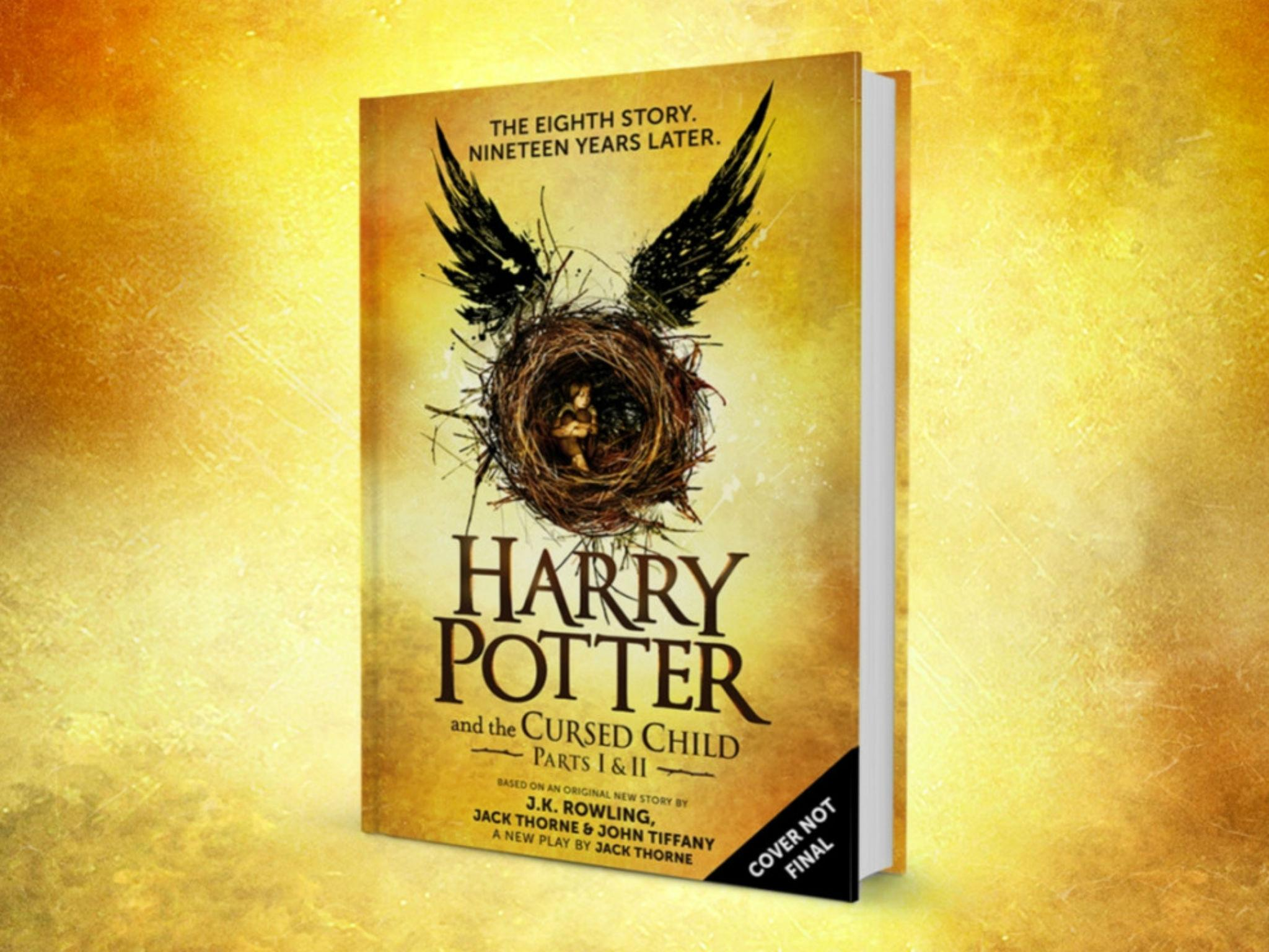 Are you excited for the new Harry Potter book and movie announcement (Harry Potter and the Cursed child)?