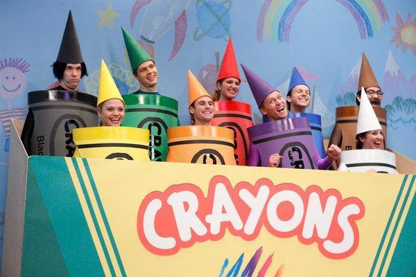 Do you know what the crayon song is?