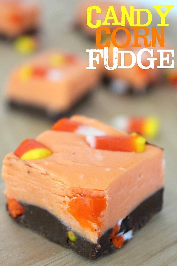 Does Candy corn fudge sound good?