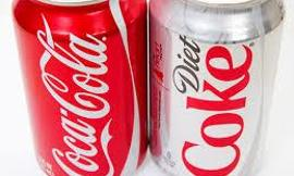 which would you rather drink or experiment with, coca cola or diet coca cola?