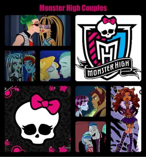 Who is the cutest couple at Monster High