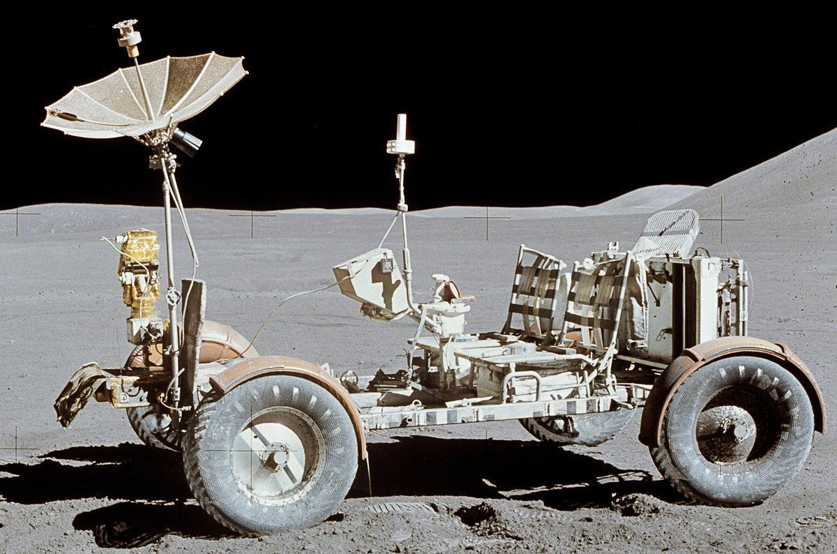 What happened to the moon rover (Moon Buggy)? Can the moon rover be seen from Earth?