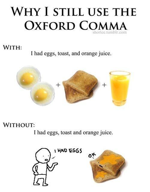 Do you know what the Oxford Comma is?