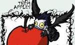 This has been bothering me for awhile, so does anyone else have an obsession of apples?