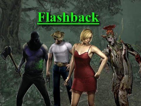 Can the axeman be killed in Resident Evil Oubreak File 2 on Flashback level?