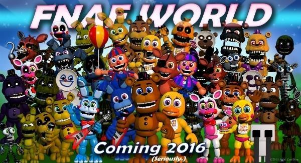 Are You Excited For FNAF World?