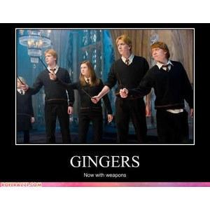 Who else is a ginger?