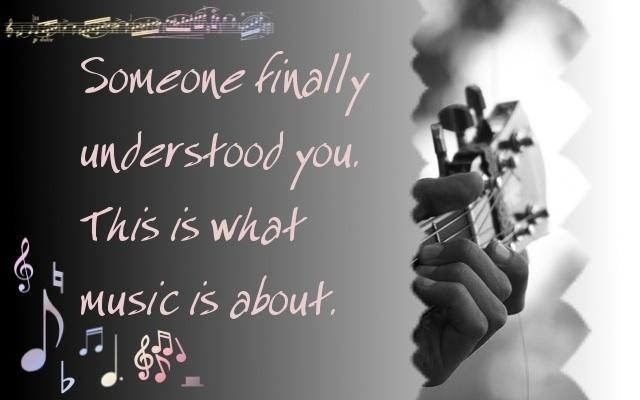 What does music mean to you?