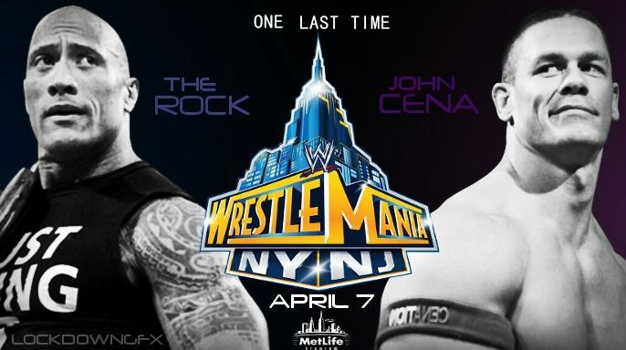 The Rock Vs John Cena Wrestlemania 29 One More Time... Who will win?