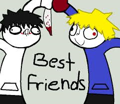 If we were buddies (which I am jeff the killer), what would we do?