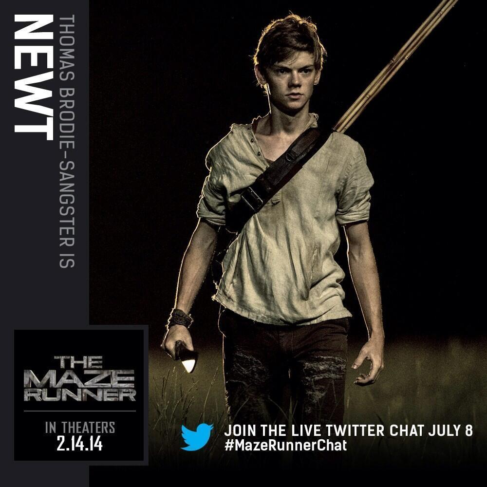 what do you think of Newt from the Maze Runner?