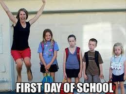 What do you think about the first day of school?