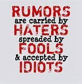 Seek The Truth Not The Rumors