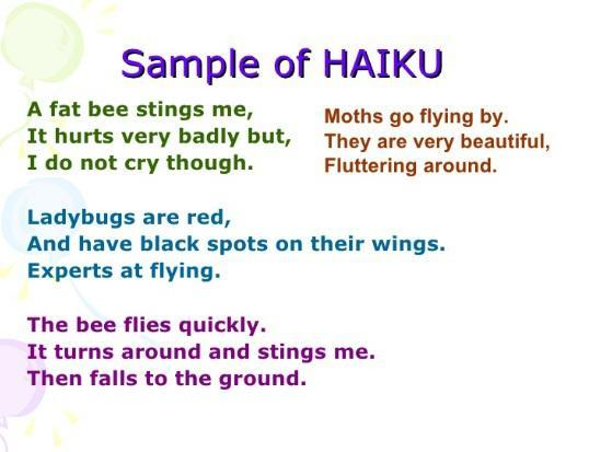 How many possible haiku combinations are there in English?