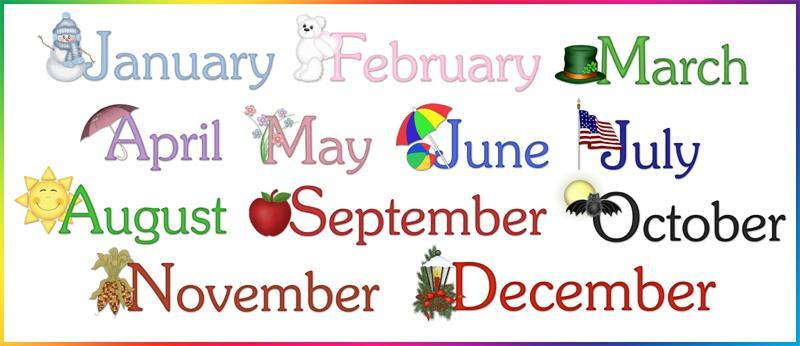 What's your favourite Month?