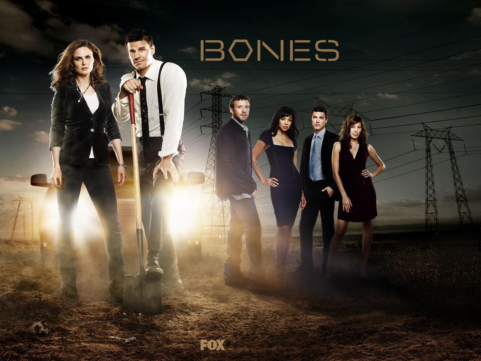 "Who else watches the tv show ""Bones""?"