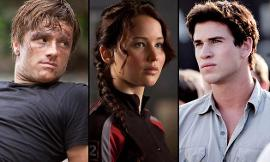 In the Hunger Games, does Katniss choose Petta or Gale?