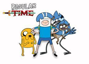 ??? Adventure time or Regular show???