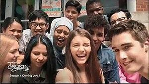 Who watched degrassi next class or next generation?